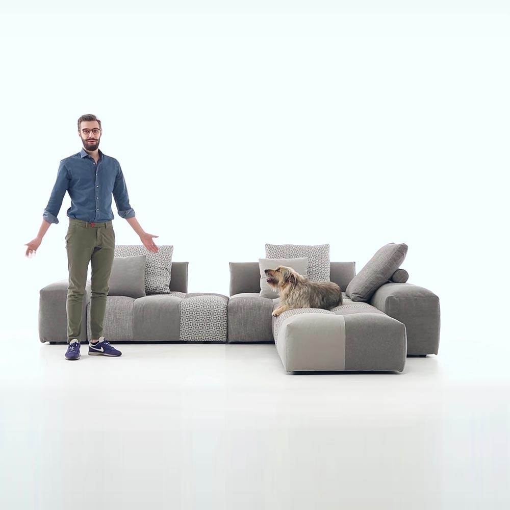 Retrostudio Shop 義大利 Saba Italia Pixel Sofa 組合沙發
